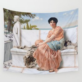 In the Days of Sappho Wall Tapestry