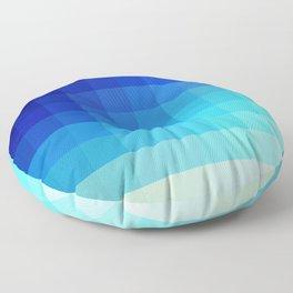 Abstract Deep Water Utukku Floor Pillow