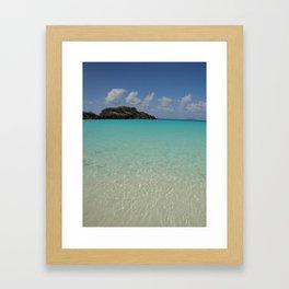 St. John, Trunk Bay Framed Art Print