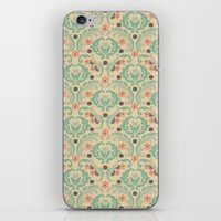 wallpaper iPhone & iPod Skins featuring Wallpaper by hcase