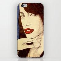 aaliyah iPhone & iPod Skins featuring Aaliyah by DeMoose_Art