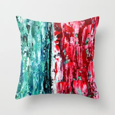 Color Combo #2 Throw Pillow