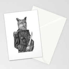 The general's ancient sword Stationery Cards