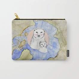 Polar Bear Portrait Carry-All Pouch