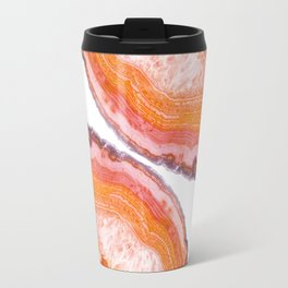 Carnelian Agate Slices Travel Mug