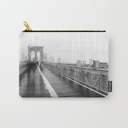 Brooklyn Bridge and Rain Carry-All Pouch