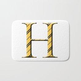 H for Hufflepuff Bath Mat