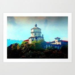 Capuchin Monastery Art Print