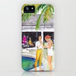 Villa Party iPhone Case