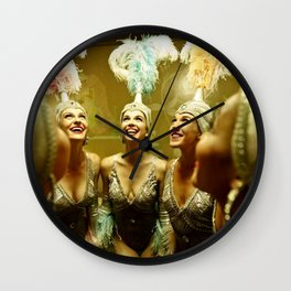 1950's Showgirls Wall Clock