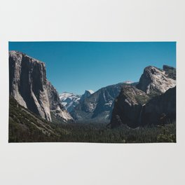 Tunnel View, Yosemite National Park II Rug