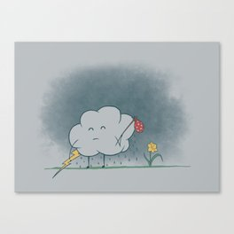 I wandered lonely as a cloud.  Canvas Print