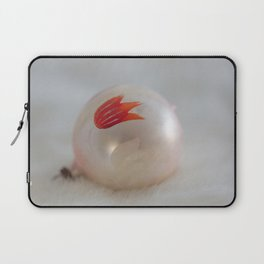Christmas with Red Tulip Laptop Sleeve