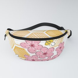 Cherry Blossom Bees Fanny Pack
