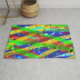 Stars and lines Rug
