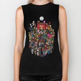Super Mighty Boosh Biker Tank