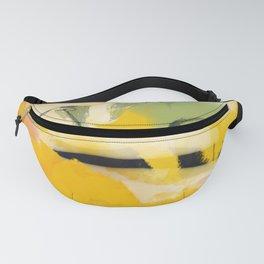 landscape abtract - paysage jaune Fanny Pack