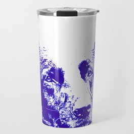 blue Mitzi Travel Mug