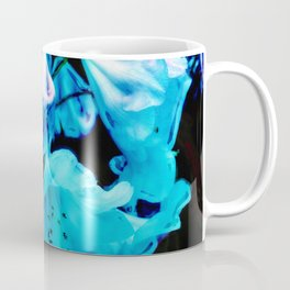 Rhododendrons in Blue Coffee Mug