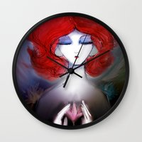 zen Wall Clocks featuring Zen by Jaleesa McLean