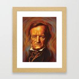 Tristan und Isolde Framed Art Print
