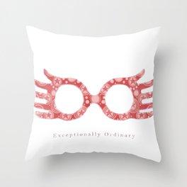 Exceptionally Ordinary Throw Pillow