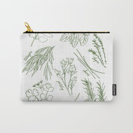 Herbs Carry-All Pouch