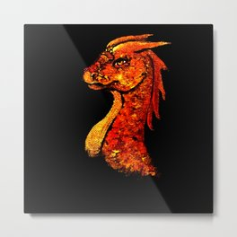 Dragon of Fire Metal Print