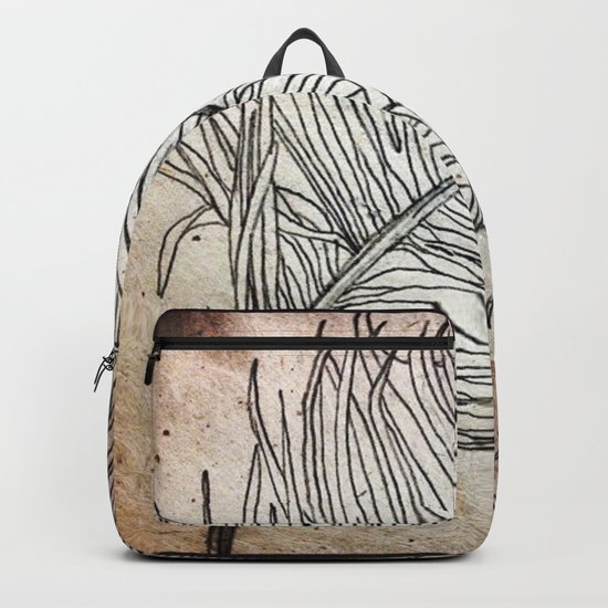 Palm Flower on Earth Day Backpack