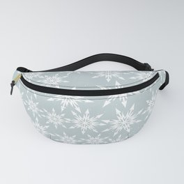 Merry Christmas Wintertime - Snowflakes pattern Fanny Pack