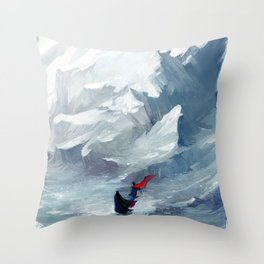 Adventure with you Throw Pillow
