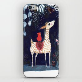 midnight blue vicuna iPhone Skin