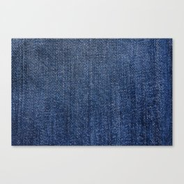 Jeans On All Canvas Print