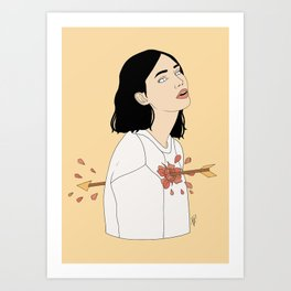 Love Struck Art Print