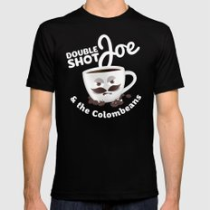 Doubleshot Joe Mens Fitted Tee Black MEDIUM