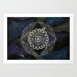 Spacey Dreams Art Print