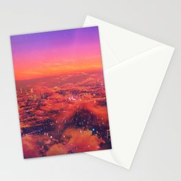 Neonlight Stationery Cards