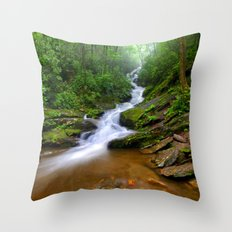 Water Trip Throw Pillow