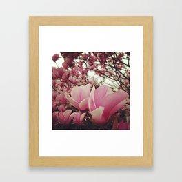 Wild Heart Pink Framed Art Print