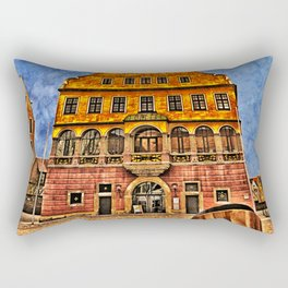 Oath House Ulm, Germany ( local history museum ) Rectangular Pillow