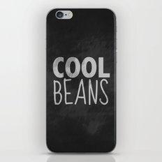 Cool Beans iPhone & iPod Skin