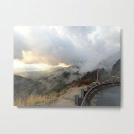 Outside Twin Peaks 4 Metal Print