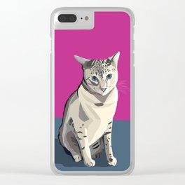 Délie Clear iPhone Case
