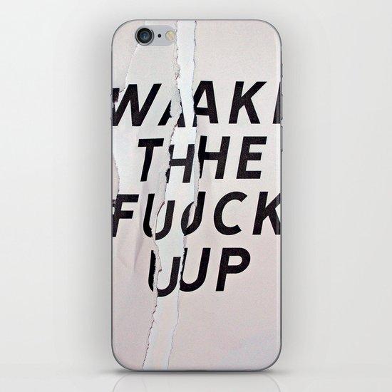 WTFU iPhone & iPod Skin