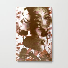 Thai Girl Metal Print