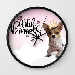 The Little Princess Wall Clock