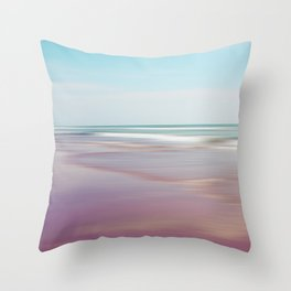 Sea waves 5 Throw Pillow