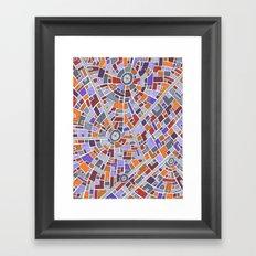 District Z3015 Framed Art Print