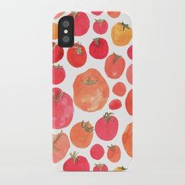 Tomato iPhone Case