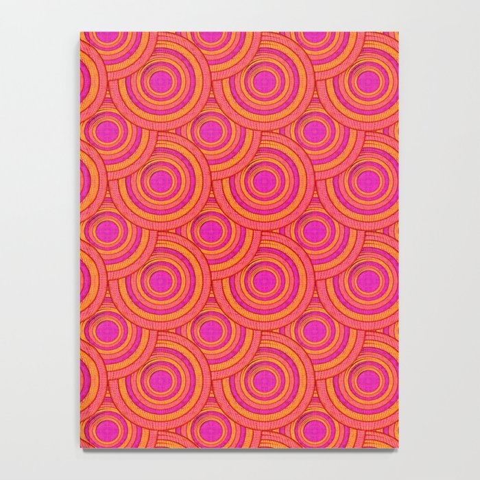 Tropical Parasols Pattern Notebook